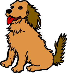 picture royalty free stock Stick drawing of a. Wet clipart wet puppy