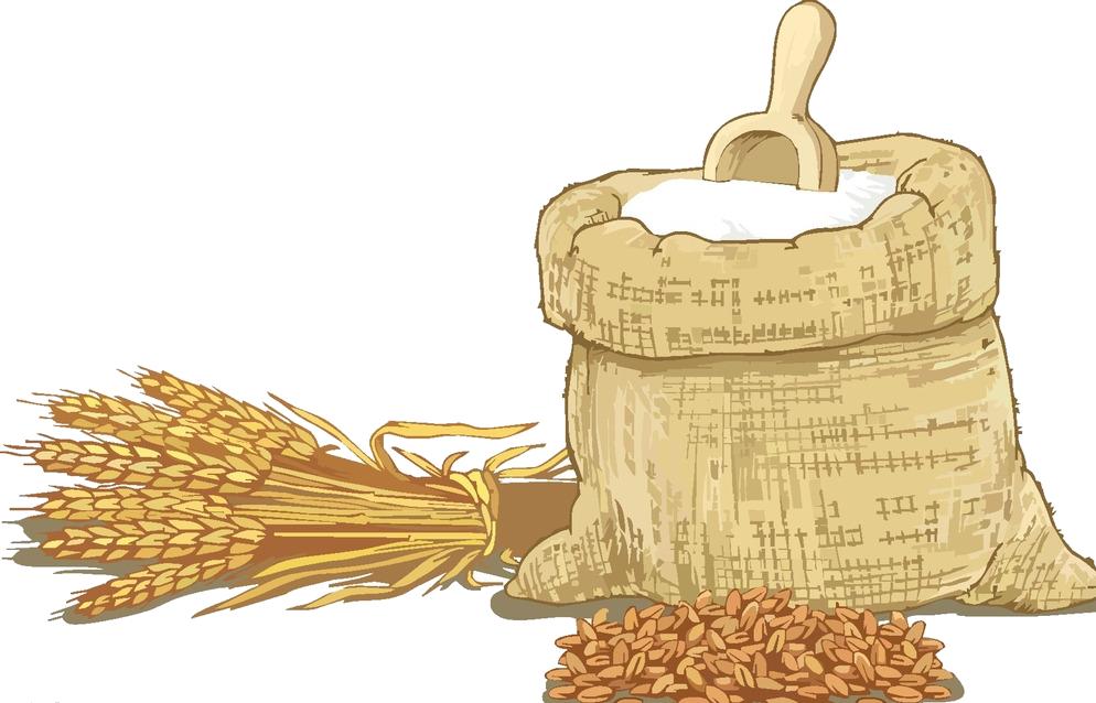 graphic transparent stock Wheat flour clipart. Cereal clip art transprent