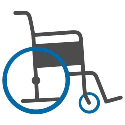 svg free Wheel chair clipart. Pushing wheelchair image clipartix