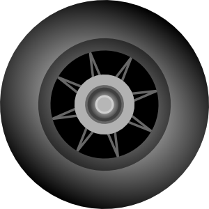 vector library Bsantos inline skate clip. Wheel clipart.