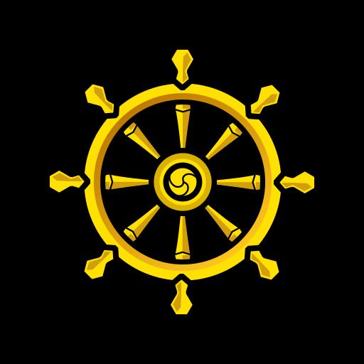 image freeuse Wheel Of Dharma Emoji for Facebook
