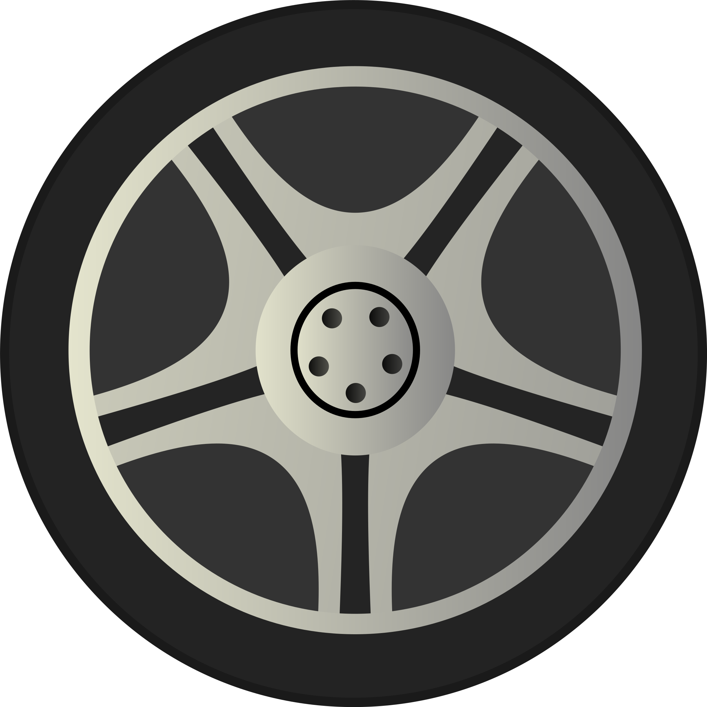 image black and white stock Wheel clipart. Simple car tire rims.