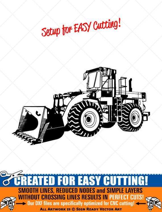 picture transparent download Wheel loader clipart. Front end vector clip