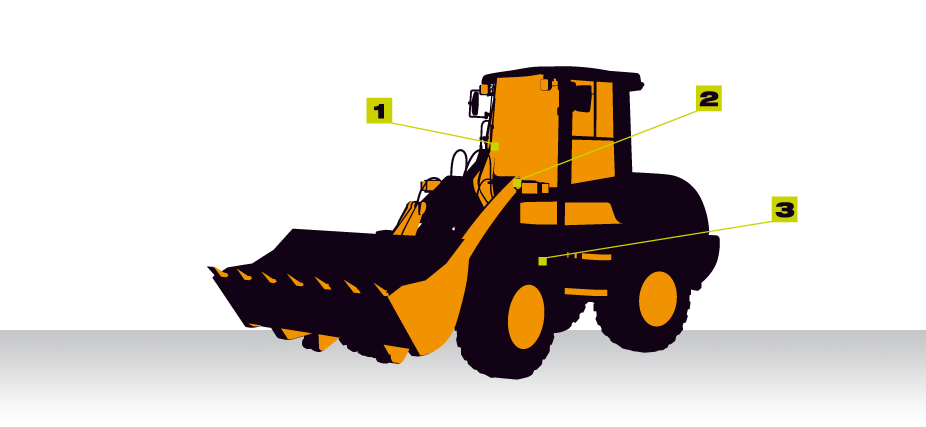 banner transparent Compact weighing vei group. Wheel loader clipart