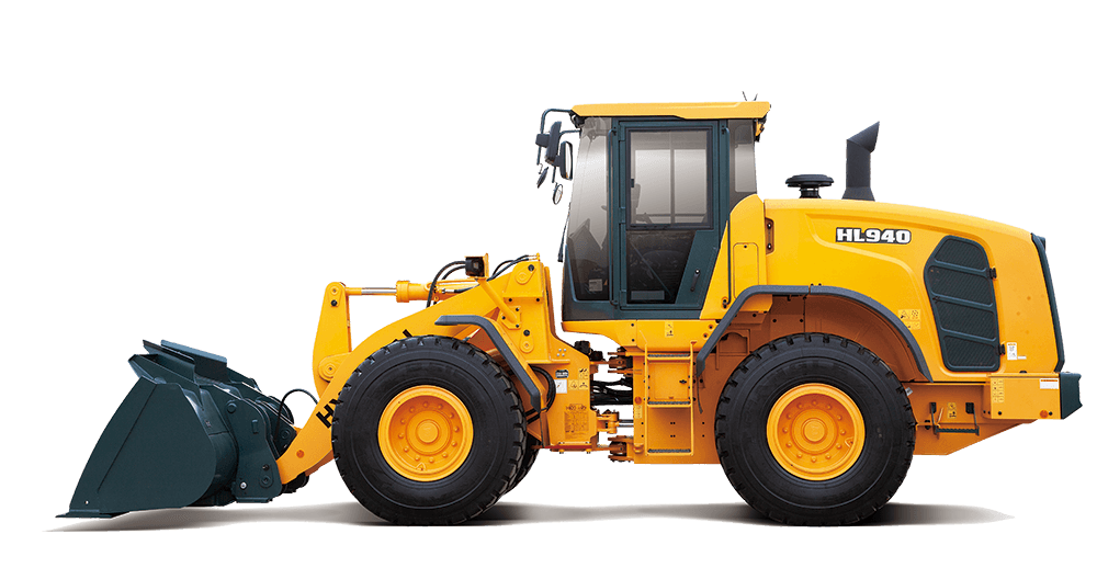 picture freeuse Hl hyundai construction equipment. Wheel loader clipart