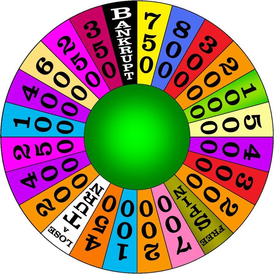 graphic transparent library Panda free images . Wheel of fortune clipart