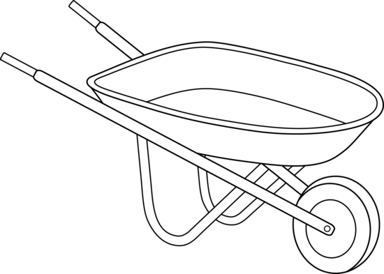 clip freeuse stock Wheelbarrow clipart. Drawing google search gardening