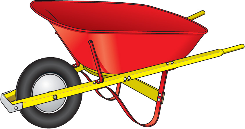 clip art royalty free library Wheelbarrow clipart. Free cliparts download clip