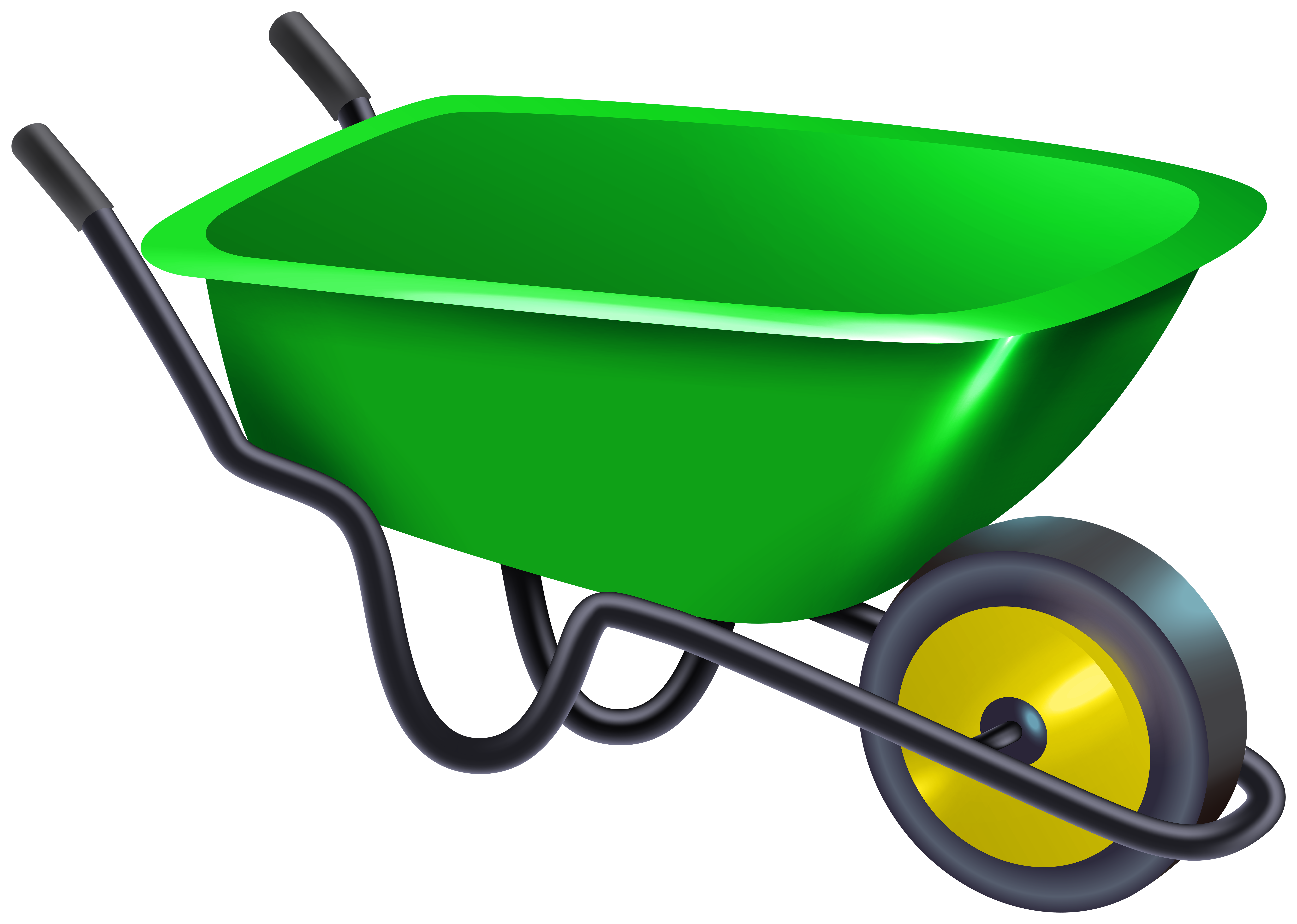 picture stock Png gallery yopriceville high. Wheelbarrow clipart.