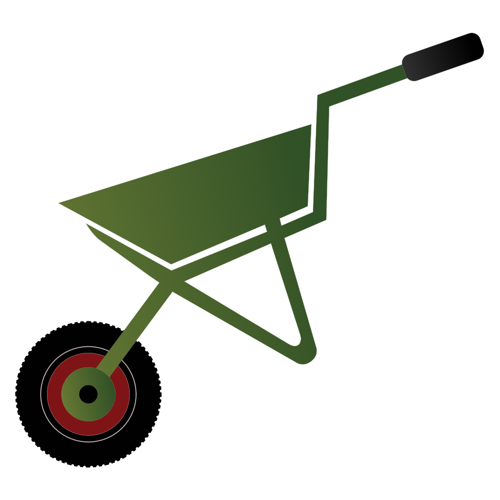clipart transparent library Cliparts free download best. Wheelbarrow clipart construction worker tool.
