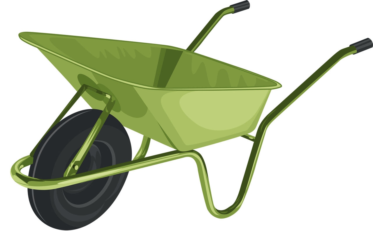 clipart freeuse download  png pinterest clip. Wheelbarrow clipart country