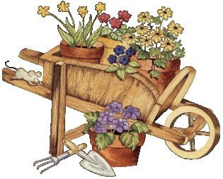 svg royalty free library Chirpings from a strathalan. Wheelbarrow clipart country