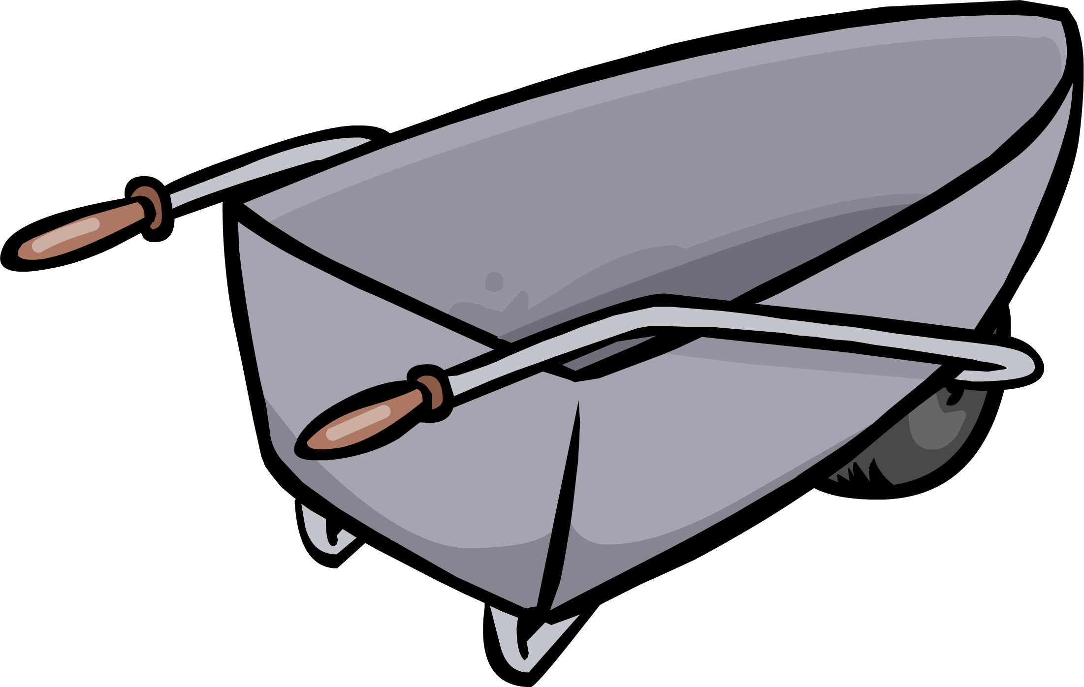 picture transparent download Wheelbarrow clipart filled. Club penguin wiki fandom