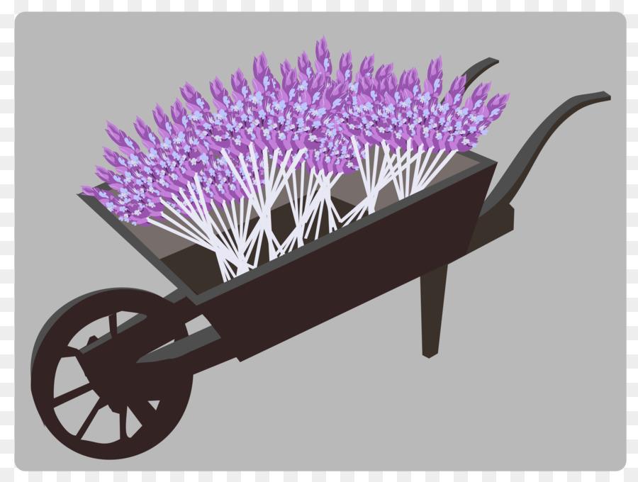 image royalty free Wheelbarrow clipart flower plant. Background garden purple .