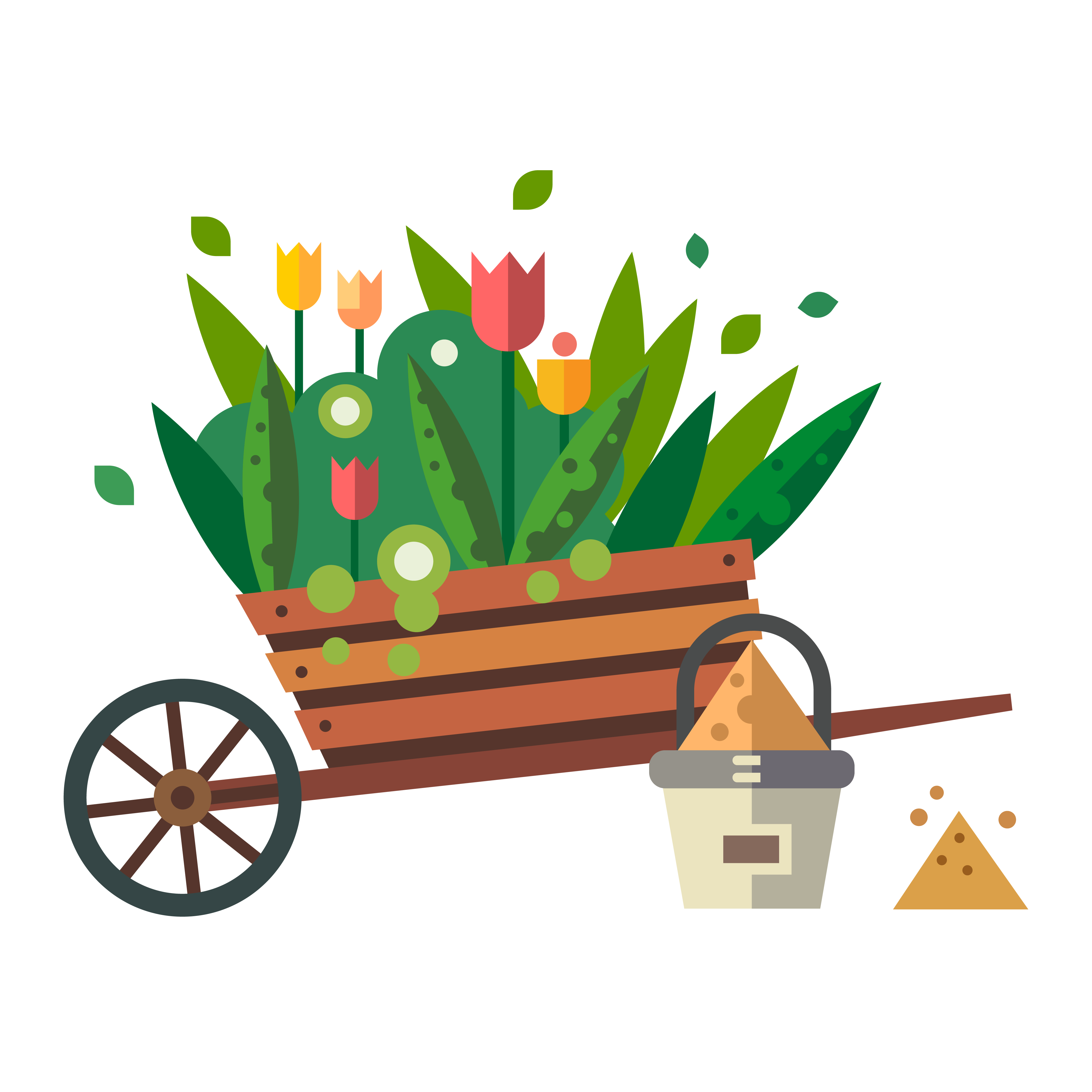 clipart library download Wheelbarrow clipart flower plant. Garden tool landscaping shipping