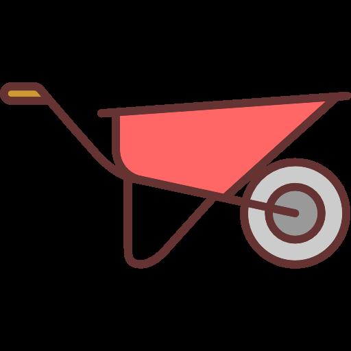 clipart library stock Wheelbarrow clipart garden cart. Tools and utensils trolley