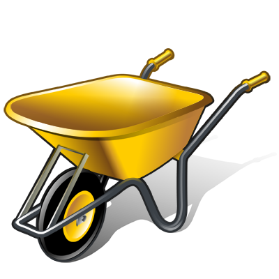 png freeuse download Real vista by iconshock. Wheelbarrow clipart garden cart