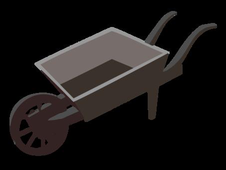 clip free Wheelbarrow clipart garden cart. Computer icons wagon free