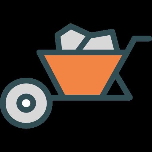 clip black and white Wheelbarrow clipart garden cart. Trolley construction gardening tools