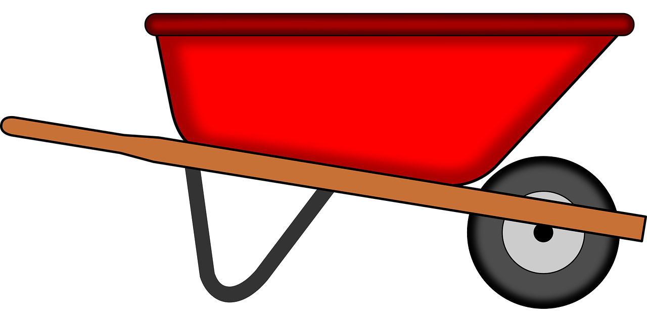 vector royalty free stock Tools gardening png picpng. Wheelbarrow clipart red object.