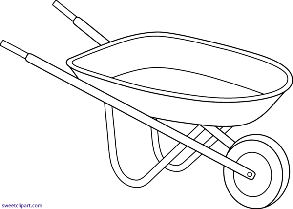 image transparent library Wheelbarrow clipart red object. All clip art archives