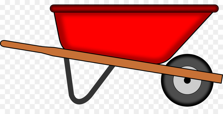 image transparent library . Wheelbarrow clipart transparent background.