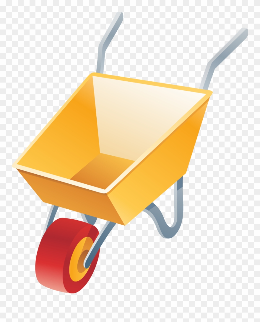 picture stock Wheelbarrow clipart transparent background. Image for clip art