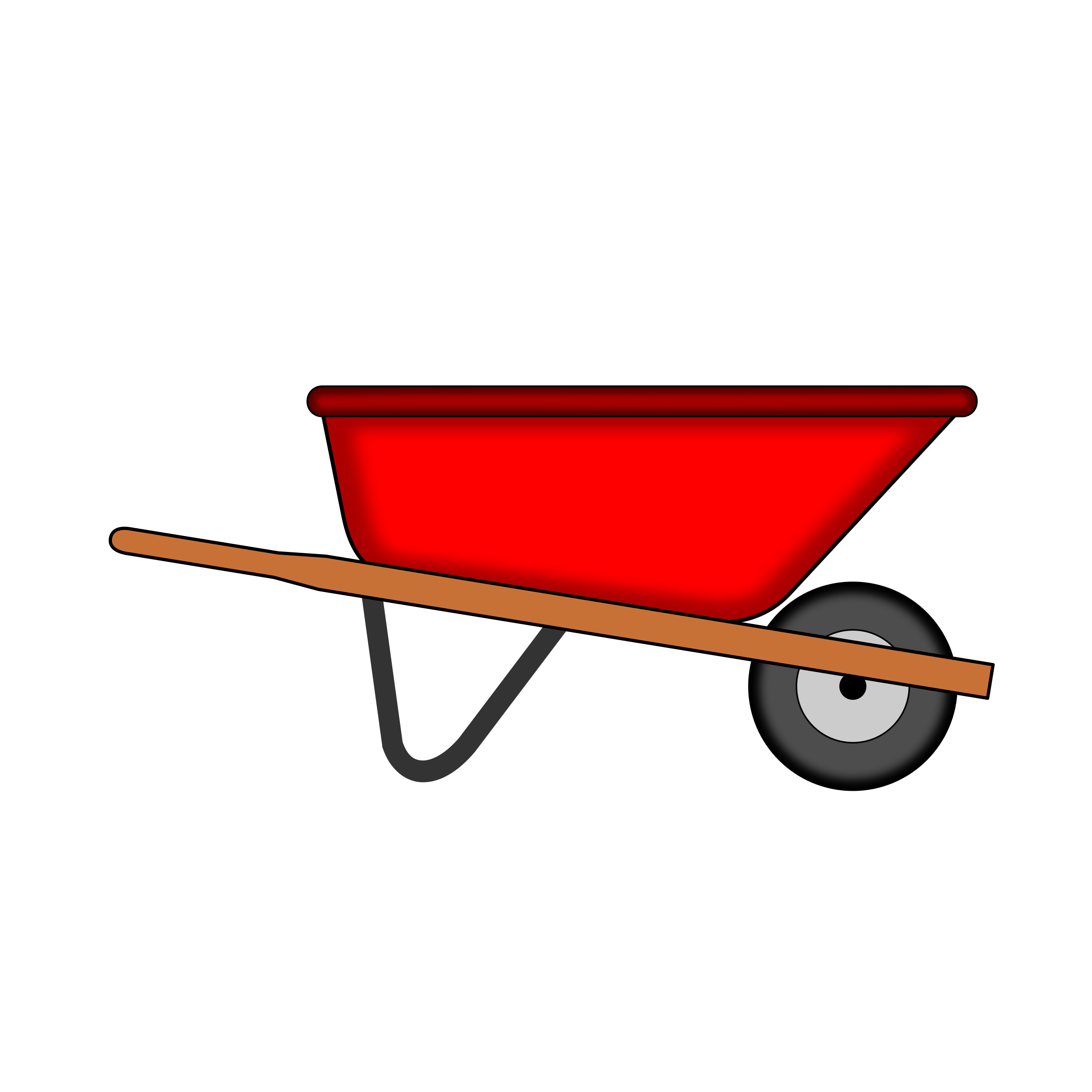 vector black and white library Frames illustrations red icons. Wheelbarrow clipart transparent background.