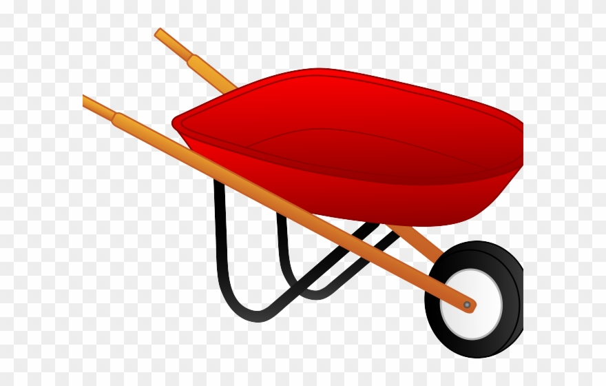 svg freeuse stock Wheelbarrow clipart transparent background. Harvest png .