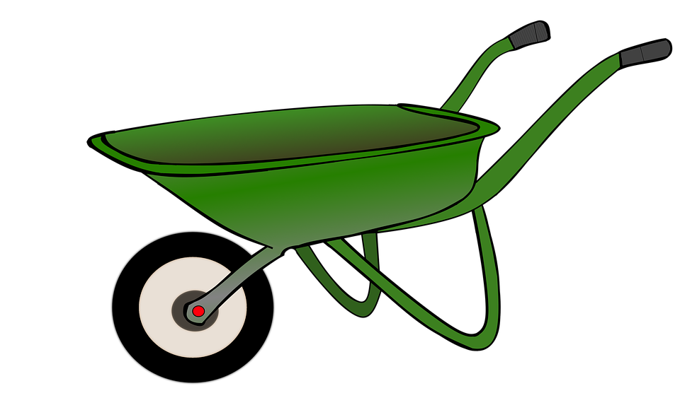 picture free Wheelbarrow clipart transparent background. Doing thing frames illustrations