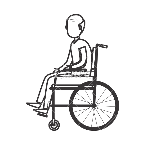 png freeuse stock Drawing at getdrawings com. Kid in wheelchair clipart