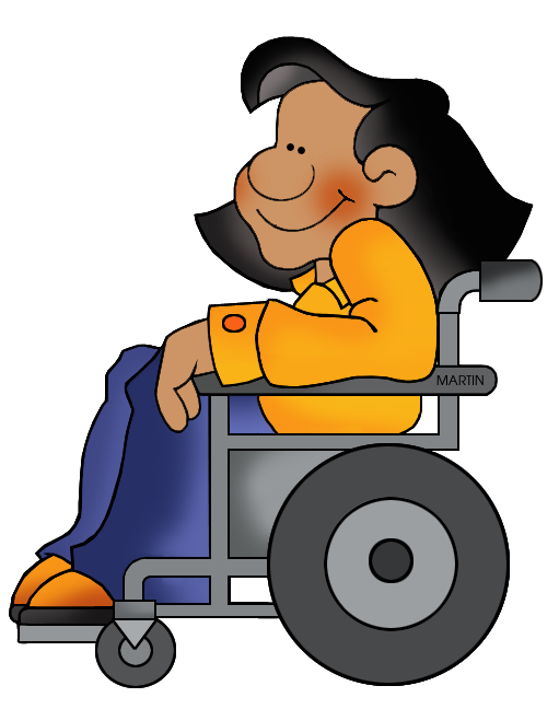 graphic royalty free School clip art by. Wheel chair clipart