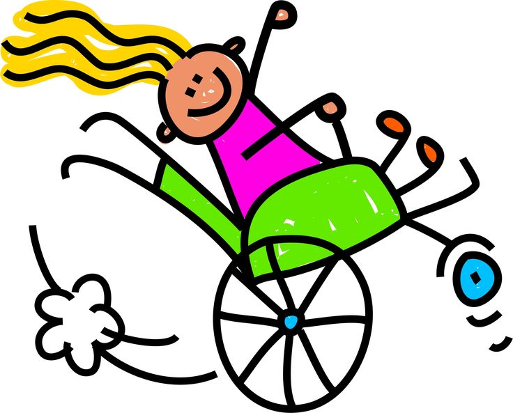 banner library download Wheelchair kids clipart. Free download best