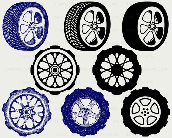 jpg free download Wheels clipart. Tyre svg auto car