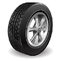 vector black and white Download car wheel free. Wheels clipart