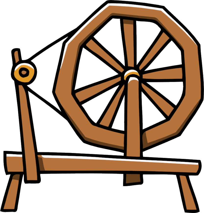 clip freeuse download Scribblenauts wiki fandom powered. Sleeping beauty spinning wheel clipart.