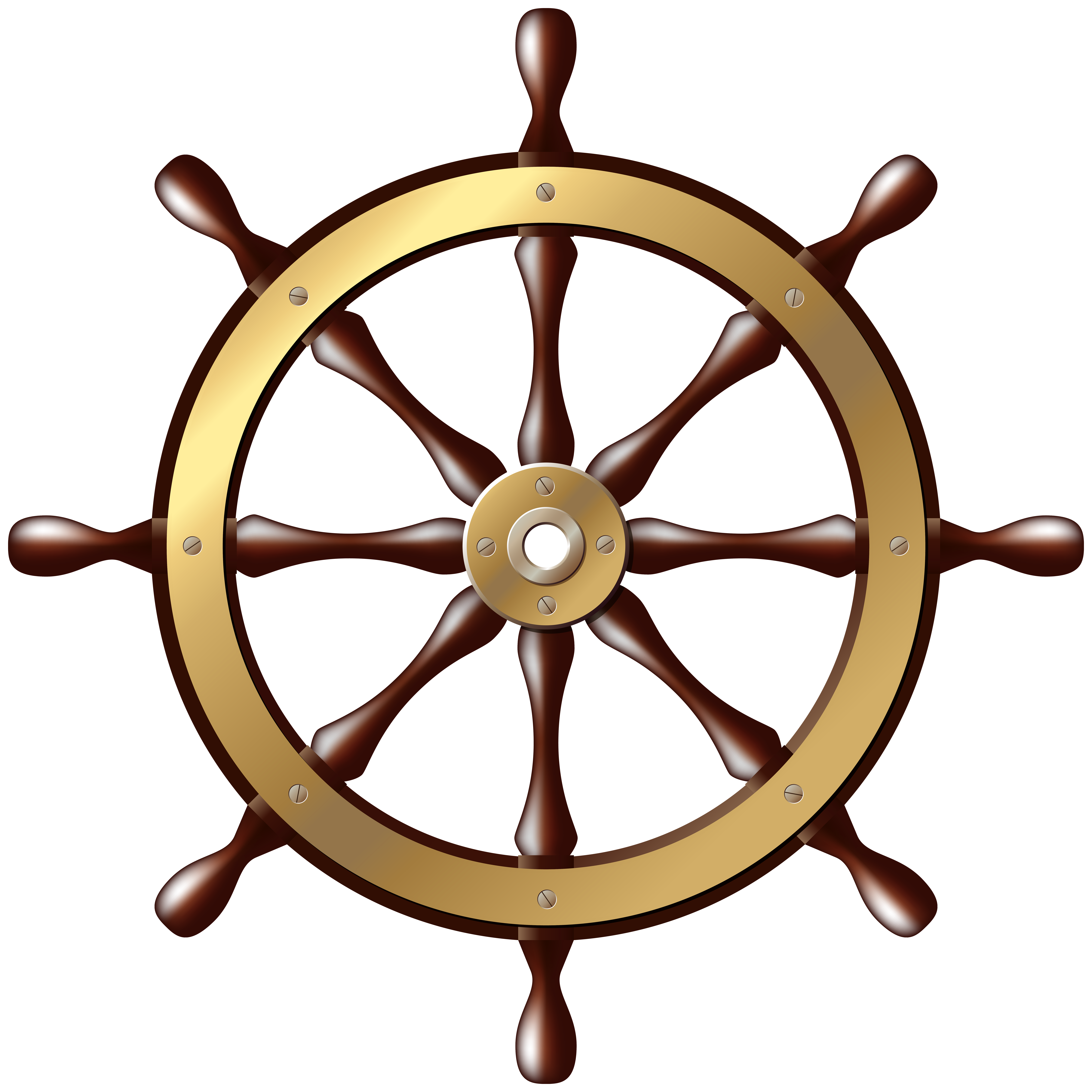graphic free stock Ship png clip art. Clipart wheel.