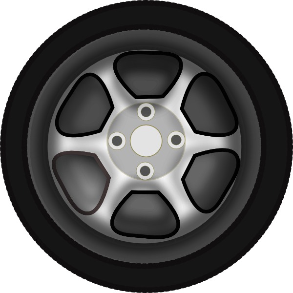 jpg royalty free Rim tyre side free. Clipart wheel.