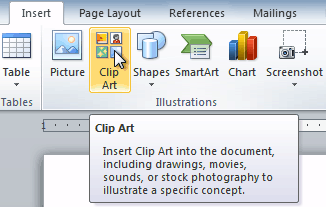 vector freeuse stock Word inserting clip art. Where is in clipart insert.