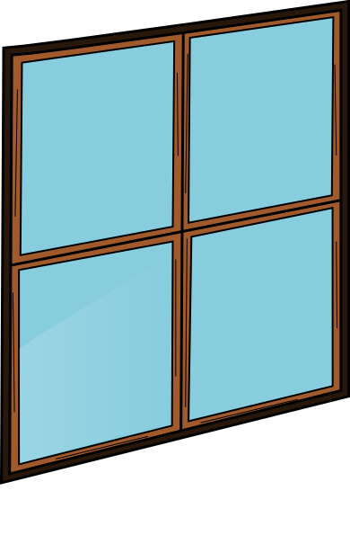 picture royalty free Window Pane Clipart