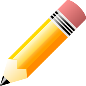 free library Where is in clipart pencil. School clip art line