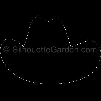 clip art transparent stock Hat silhouette clip art. Whip clipart cowboy