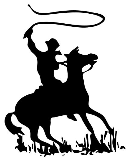 image black and white library Whip clipart cowboy. Images clip art with
