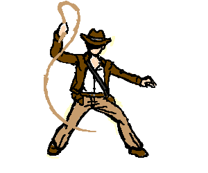 svg stock Hobo with a shotgun. Whip clipart indiana jones whip