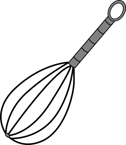 image library library . Whisk clipart black and white