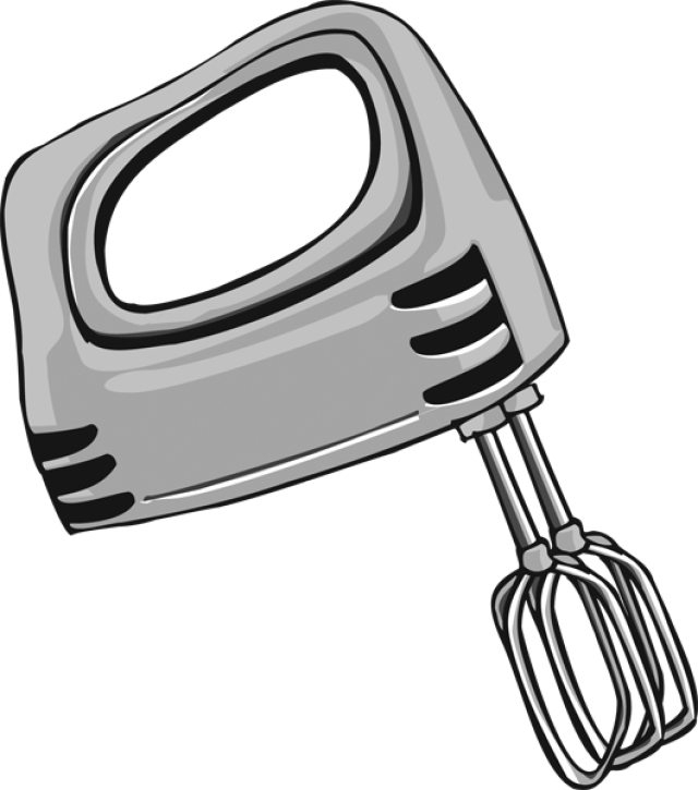 image royalty free Whisk clipart hand mixer.  collection of electric