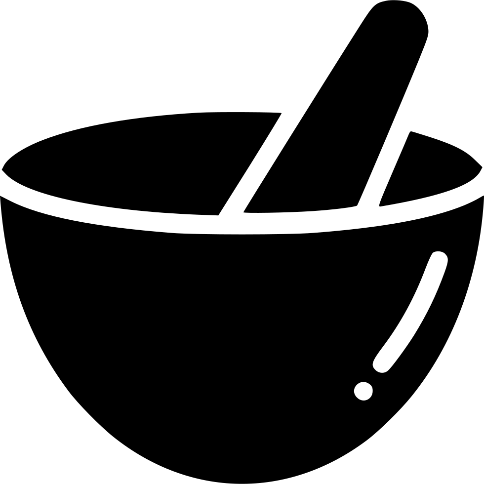 picture royalty free stock Hand grind mix bowl. Mortar and pestle clipart vintage medical.