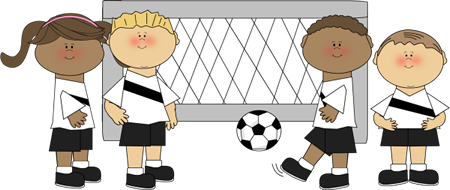 svg freeuse library Whisper clipart bad kid. Kids playing soccer library