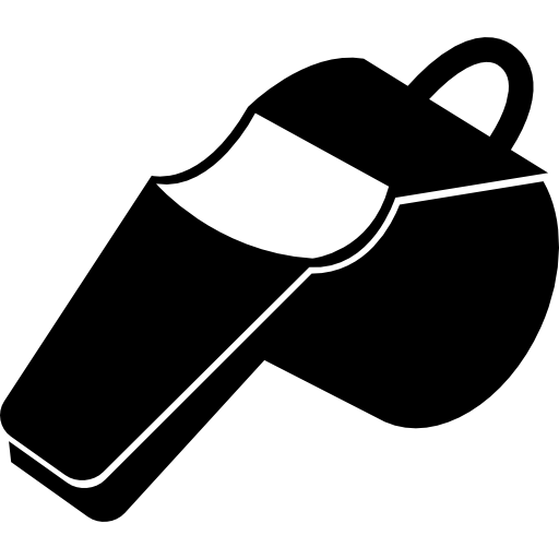 png freeuse stock Whistle black and white clipart. With detail free sports.