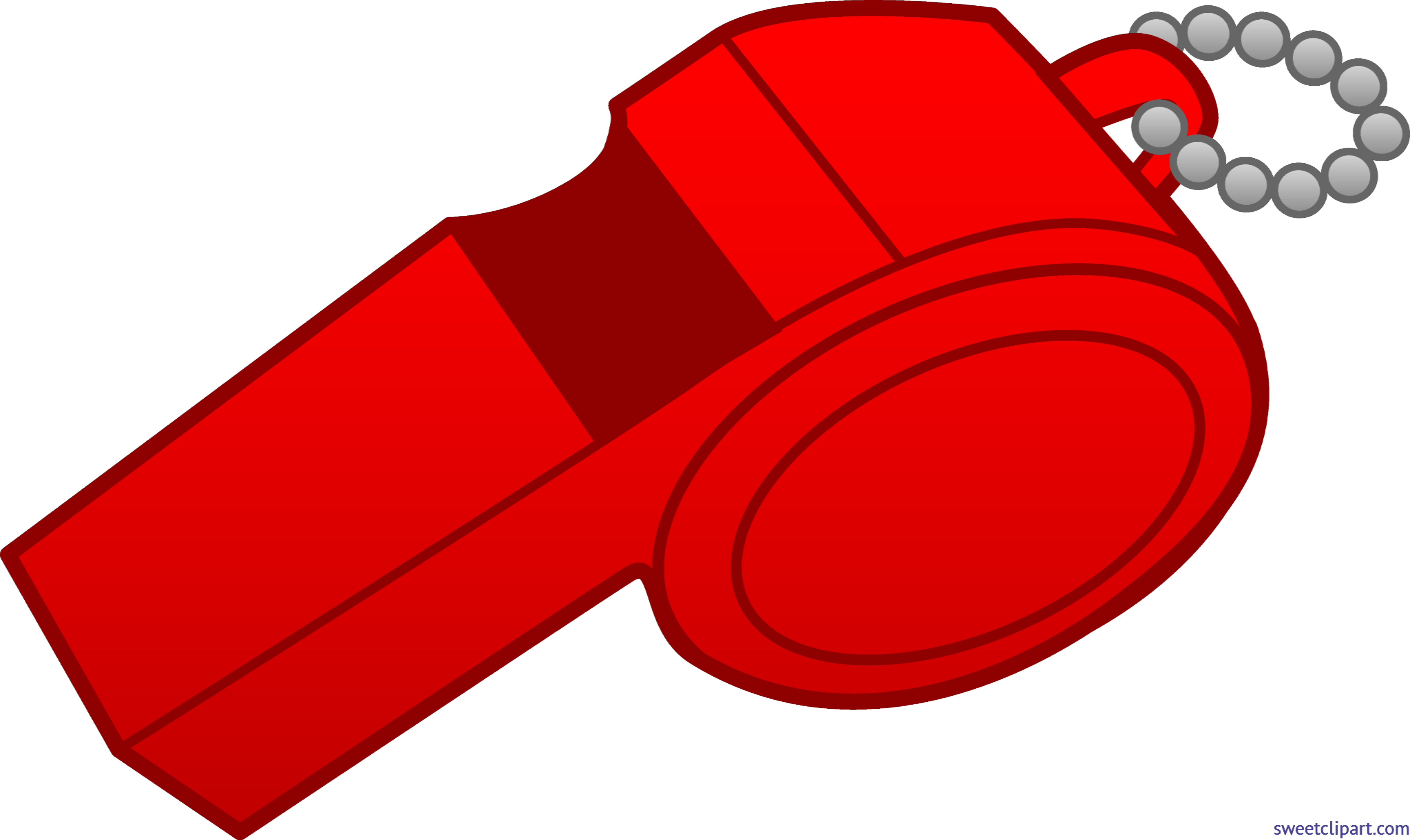 png transparent download Red clip art sweet. Whistle clipart